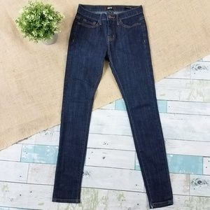 BDG UO Mid Rise Twig Ankle Skinny Jeans 26 x 29